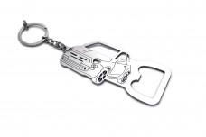 Bottle opener for Fiat 500 2007+ - (type keychain)