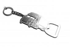 Bottle opener for Freightliner Cascadia - (type keychain)