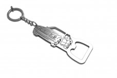 Bottle opener for Mercedes E-Class W124 1985-1996 - (type keychain)