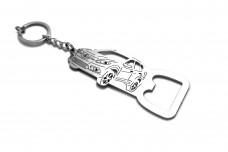 Bottle opener for Nissan Rogue II 2014+ - (type keychain)