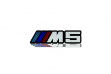 Car Emblem for grill with logo ///M5 - (type Carbon)