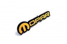 Car Emblem for grill with logo Mopar (type 2)