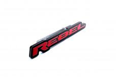 Car Emblem for grill with logo Rebel