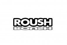 Car Emblem for grill with logo ROUSH