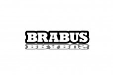 Car Emblem for grill with logo Brabus