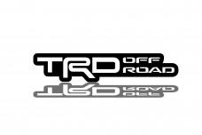 Car Emblem for grill with logo TRD offroad