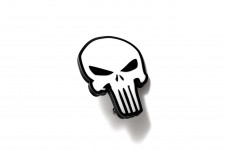 Car Emblem for grill with Punisher