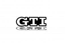 Car Emblem for grill with logo GTI