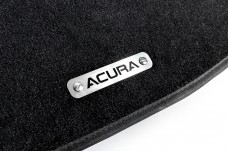 Car mat badge for Acura