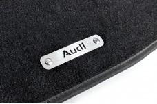 Car mat badge for Audi