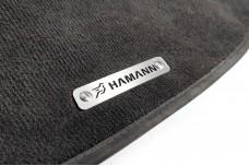 Car mat badge for Hamann