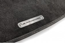 Car mat badge for BMW with logo M Perfomance