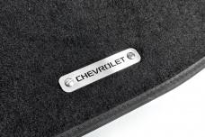 Car mat badge for Chevrolet