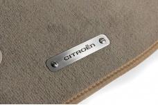 Car mat badge for Citroen