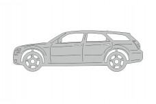 Car mat badge for Dodge Magnum 2004-2008