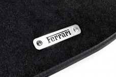 Car mat badge for Ferrari