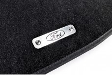 Car mat badge for Ford