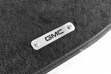 Car mat badge for GMC