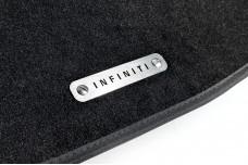Car mat badge for Infiniti