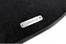 Car mat badge for Jaguar