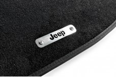 Car mat badge for Jeep