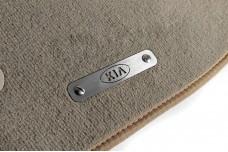 Car mat badge for KIA