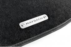 Car mat badge for Maybach