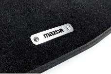 Car mat badge for Mazda