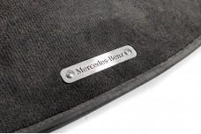 Car mat badge for Mercedes with logo Mercedes-Benz