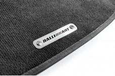 Car mat badge for Mitsubishi with logo Ralliart