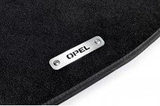 Car mat badge for Opel