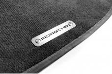 Car mat badge for Porsche