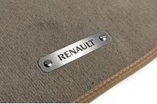 Car mat badge for Renault