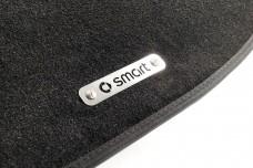 Car mat badge for Smart