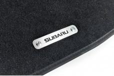 Car mat badge for Subaru