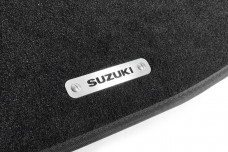 Car mat badge for Suzuki