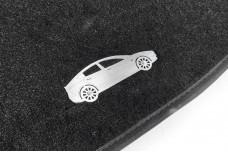 Car mat badge for Tesla Model 3 2017+