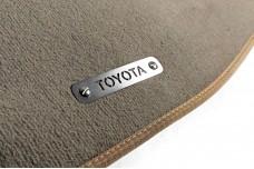 Car mat badge for Toyota