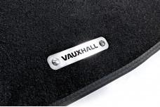 Car mat badge for Vauxhall