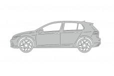 Car mat badge for Volkswagen Golf VIII 2020+