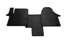 Rubber Carmats for Opel Vivaro I 2001-2014 (1+1 seats)