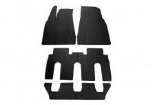 Rubber Carmats for Tesla Model X 2015+ (7 seats)
