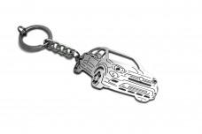 Keychain Fiat 500X 2014+ - (type 3D)