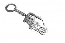 Keychain Fiat Doblo II 2010+ - (type 3D)