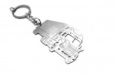 Keychain Freightliner Cascadia 2008+ - (type 3D)