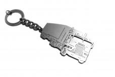Keychain Freightliner FLA - (type 3D)