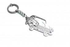 "Keychain GAZ 21 ""Volga"" - (type 3D)"