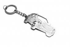 Keychain Genesis GV80 2020+ - (type 3D)