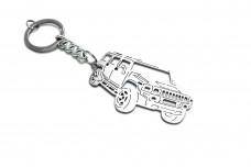 Keychain Hummer H2 2002-2009 - (type 3D)