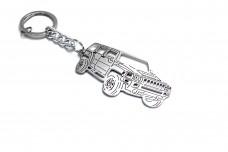 Keychain Hummer H3 2005+ - (type 3D)